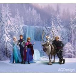 Fotozáclony Disney Ledové království 280 x 245 cm AG Design FCS XXL 7007