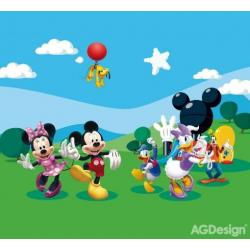 Fotozáclony Disney Mickey a kamarádi 280 x 245 cm AG Design FCS XXL 7008