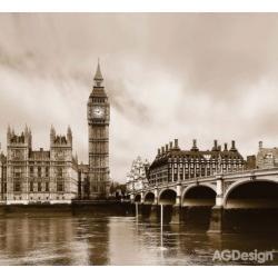 Fotozáclony Londýn 280 x 245 cm AG Design FCS XXL 7411