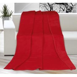 Deka jednobarevná 150x200cm červená