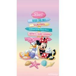 Fotozávěs Dimout Disney Daisy a Minnie 140 x 245 cm AG Design FCP L 6107