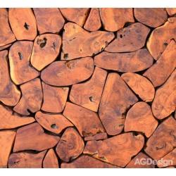 Fotozávěs Dimout dřevo 280 x 245 cm AG Design FCP XXL 6401