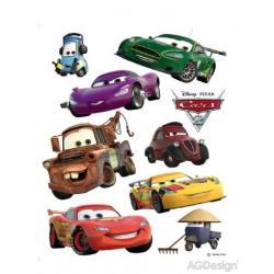 Samolepka na zeď Disney auta 2 McQueen a Mater 65 x 85 cm AG Design DK 887