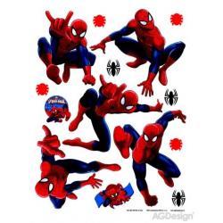 Samolepka na zeď Spider 65 x 85 cm AG Design DK 1713