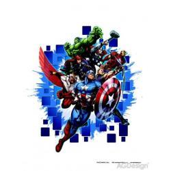 Samolepka na zeď Avengers 65 x 85 cm AG Design DK 1715