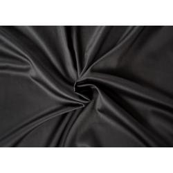 Saténové prostěradlo LUXURY COLLECTION 90x200cm černé