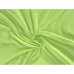 Saténové prostěradlo LUXURY COLLECTION 90x200cm světle zelené