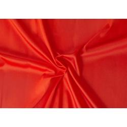 Saténové prostěradlo LUXURY COLLECTION 120x200cm červené