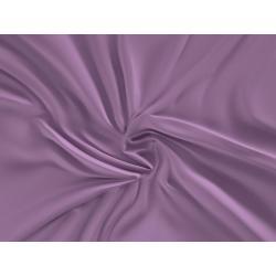 Saténové prostěradlo LUXURY COLLECTION 160x200cm fialové