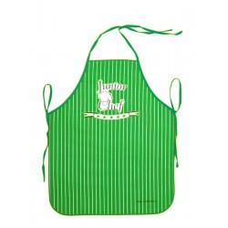 Zástěra dětská Master Chef zelená
