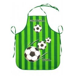 Zástěra dětská Fotbal zelená