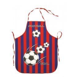 Zástěra dětská Fotbal červená