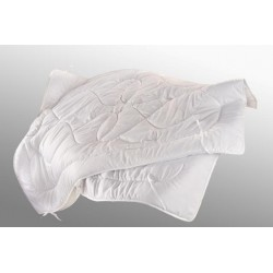 Přikrývka DUO z dutého vlákna Luxus plus 140x220cm zimní bílá