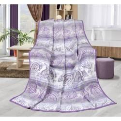 Deka vzorovaná Karmela Plus 150x200cm Kašmír fialový
