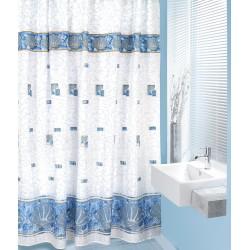Koupelnový závěs Modrá mušle 180 x200 cm