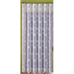 Hotová záclona Sofie bílá balkonové dveře 200x250