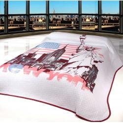 Přehoz na postel New York rozměry na dvoulůžko nebo jednolůžko