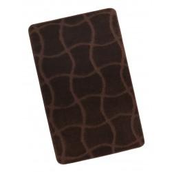 Koupelnová předložka 60x100cm Hořká čokoláda