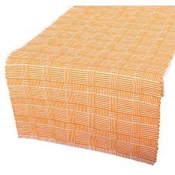 Prostírání na jídelní stůl bavlněné Manchester oranžové