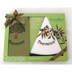 Dárkové balení Provence olivy 2 ks