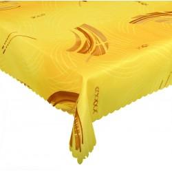 Ubrus teflonový Vějíř žlutý cena od