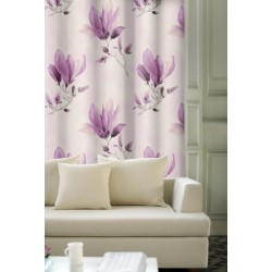 Závěsy Magnolie fialová